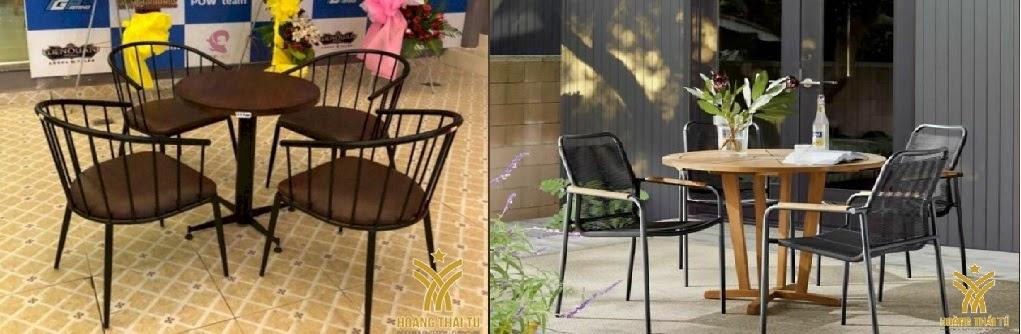 bàn ghế sắt cafe giá rẻ tphcm