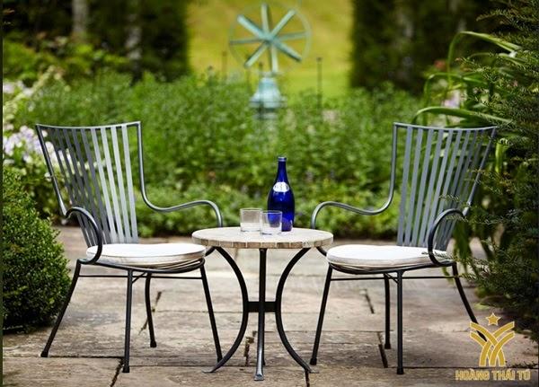 bàn ghế sắt cafe giá rẻ tphcm - 2