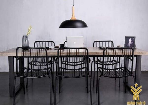 bàn ghế sắt cafe giá rẻ tphcm - 1