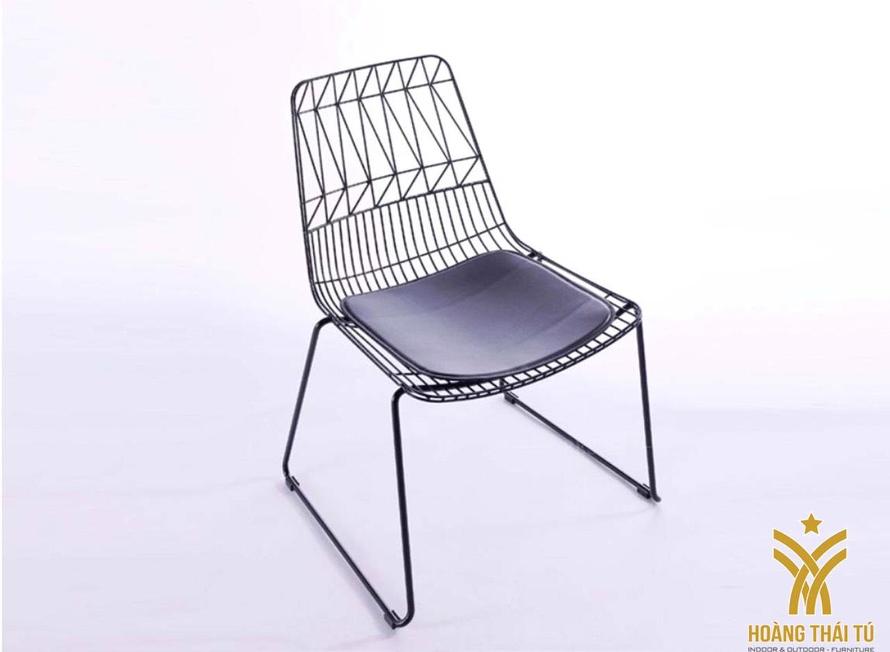 giá ghế sắt cafe